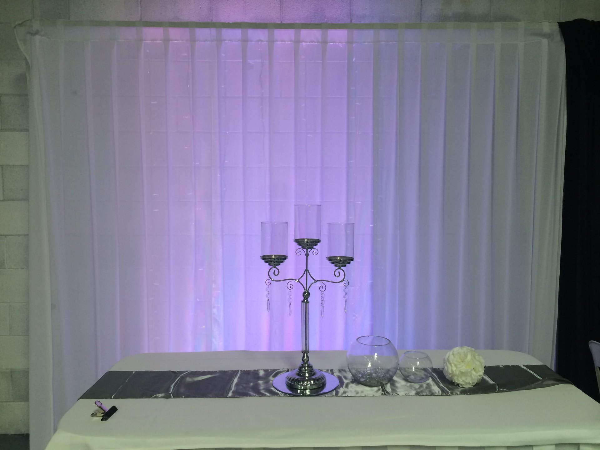 Heaven & Hell Party backdrop accessories