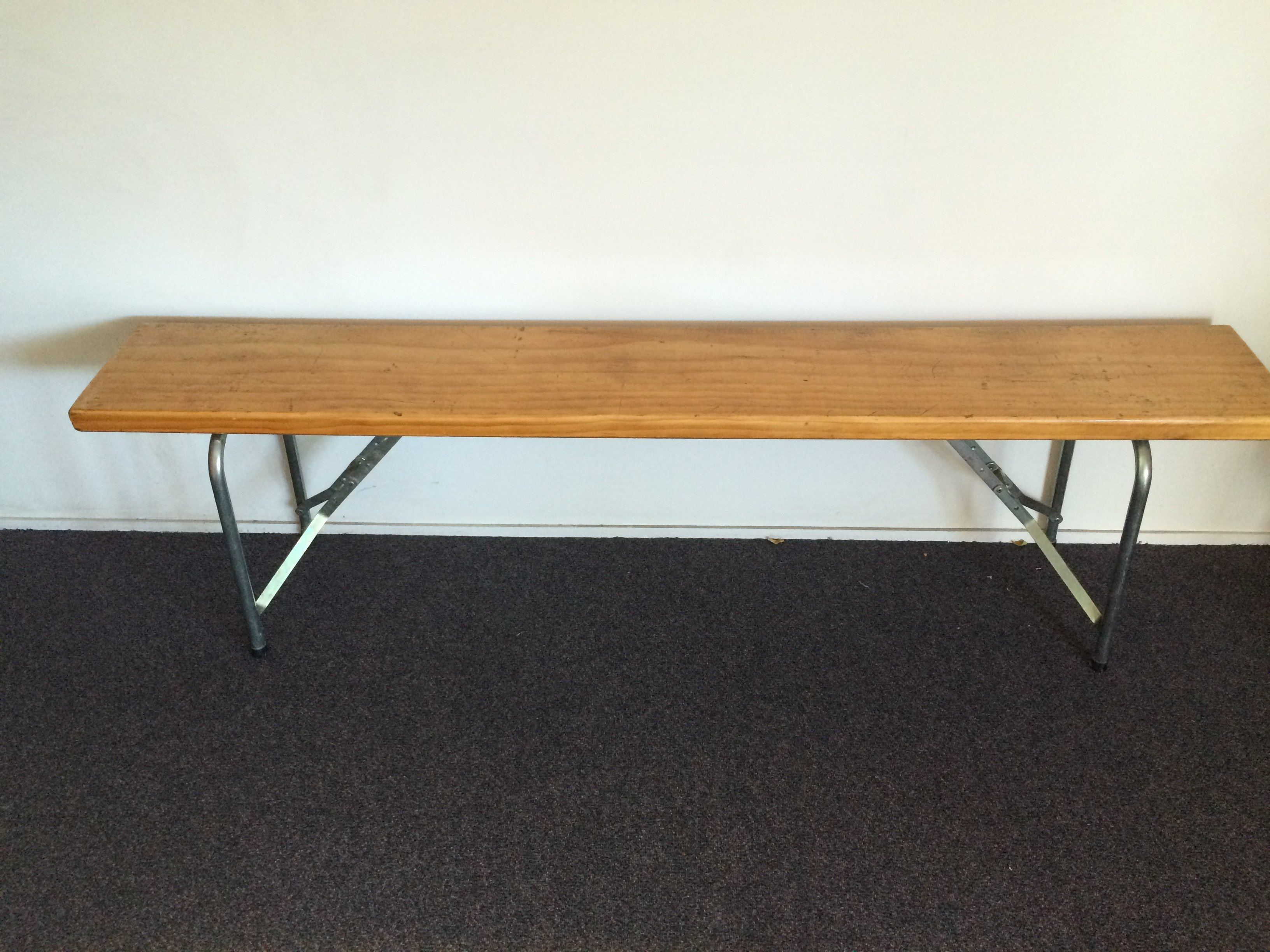 Wooden Form Bench Seat