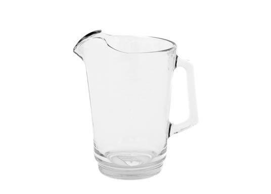 Glass beer jug