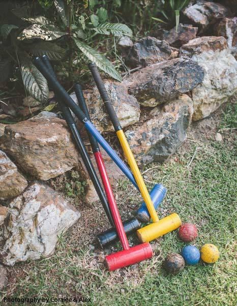 Lawn Croquet set standard
