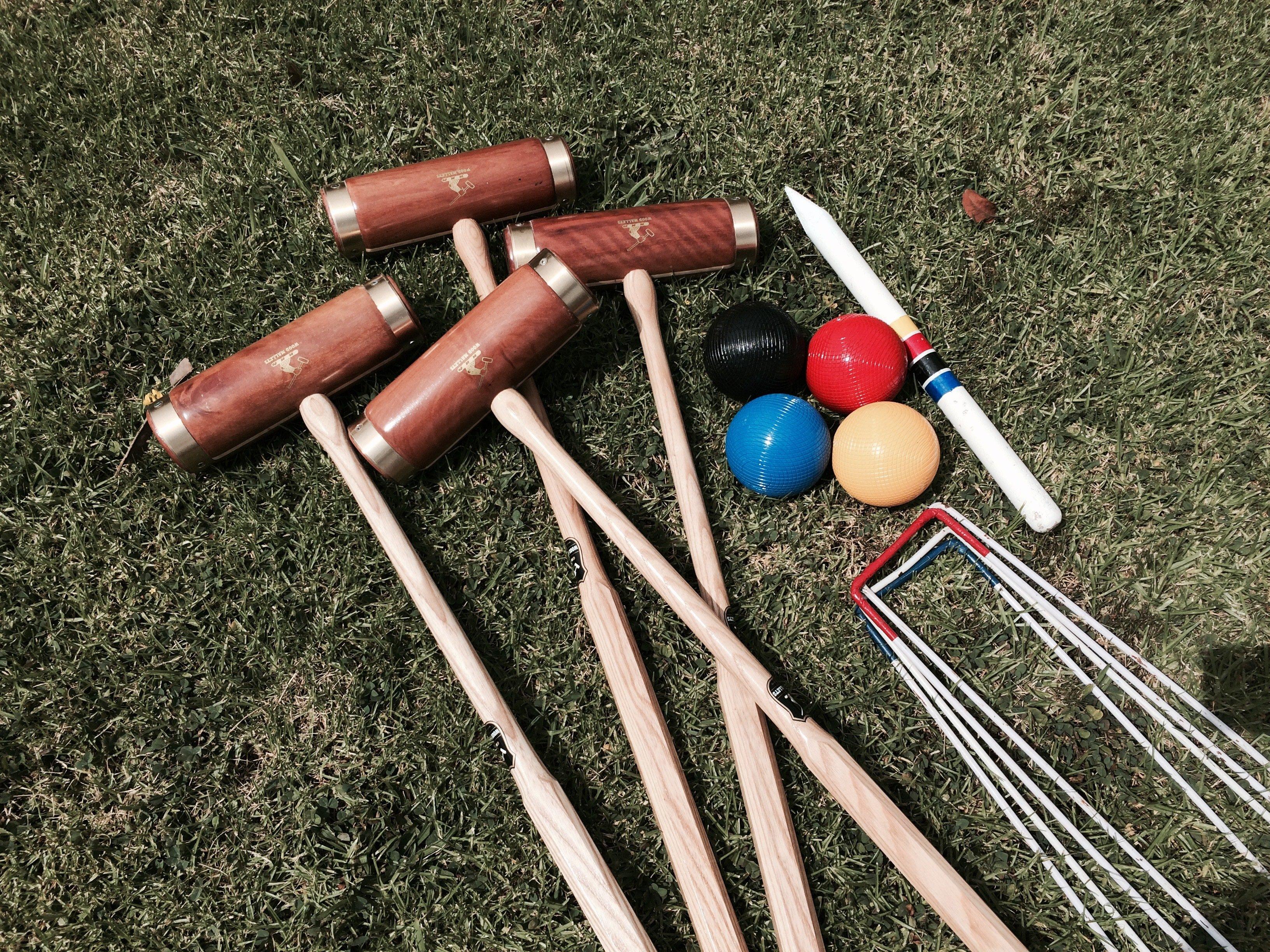 Lawn Croquet Set Premium