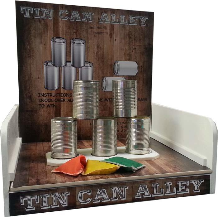 Carnival Tin Can Alley Game