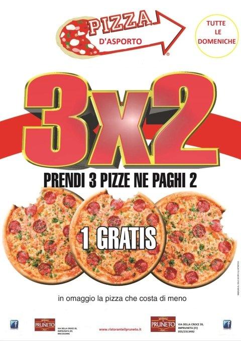 promo pizza da asporto