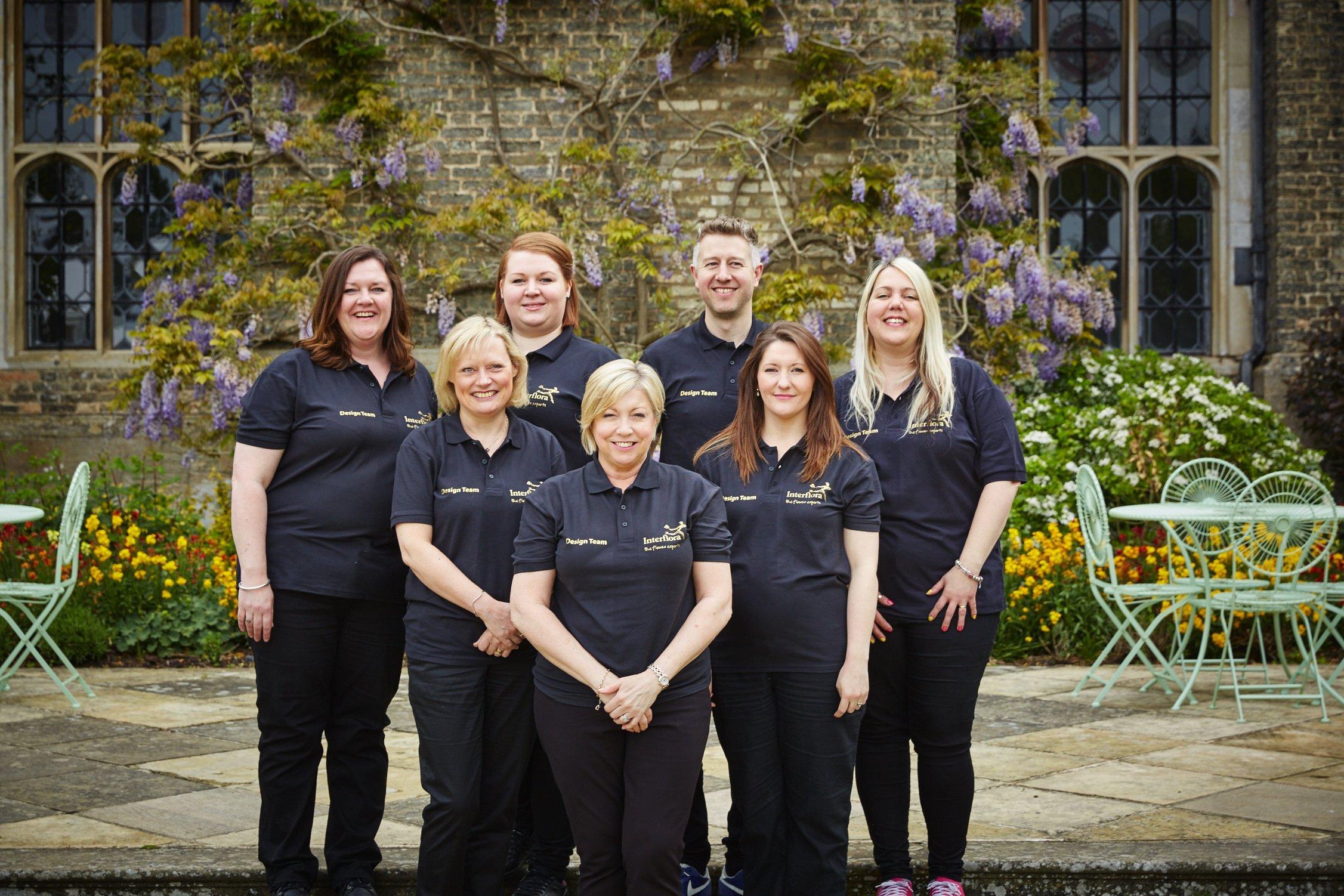 team of florists
