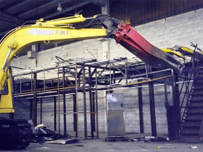 demolizione carpenteria