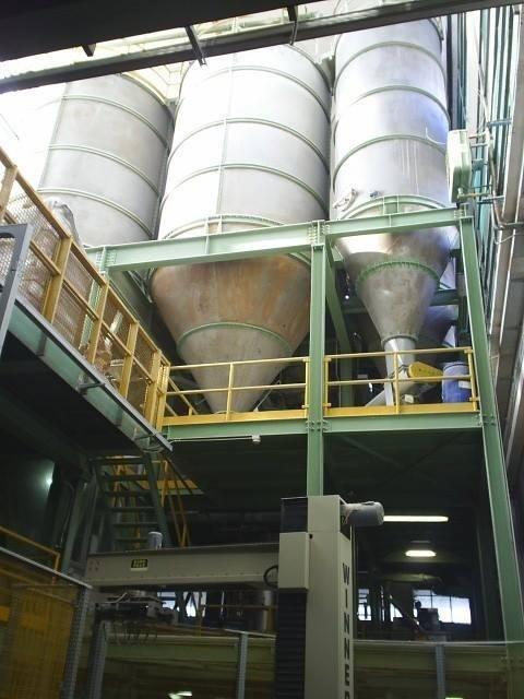 interno di un capannone industriale