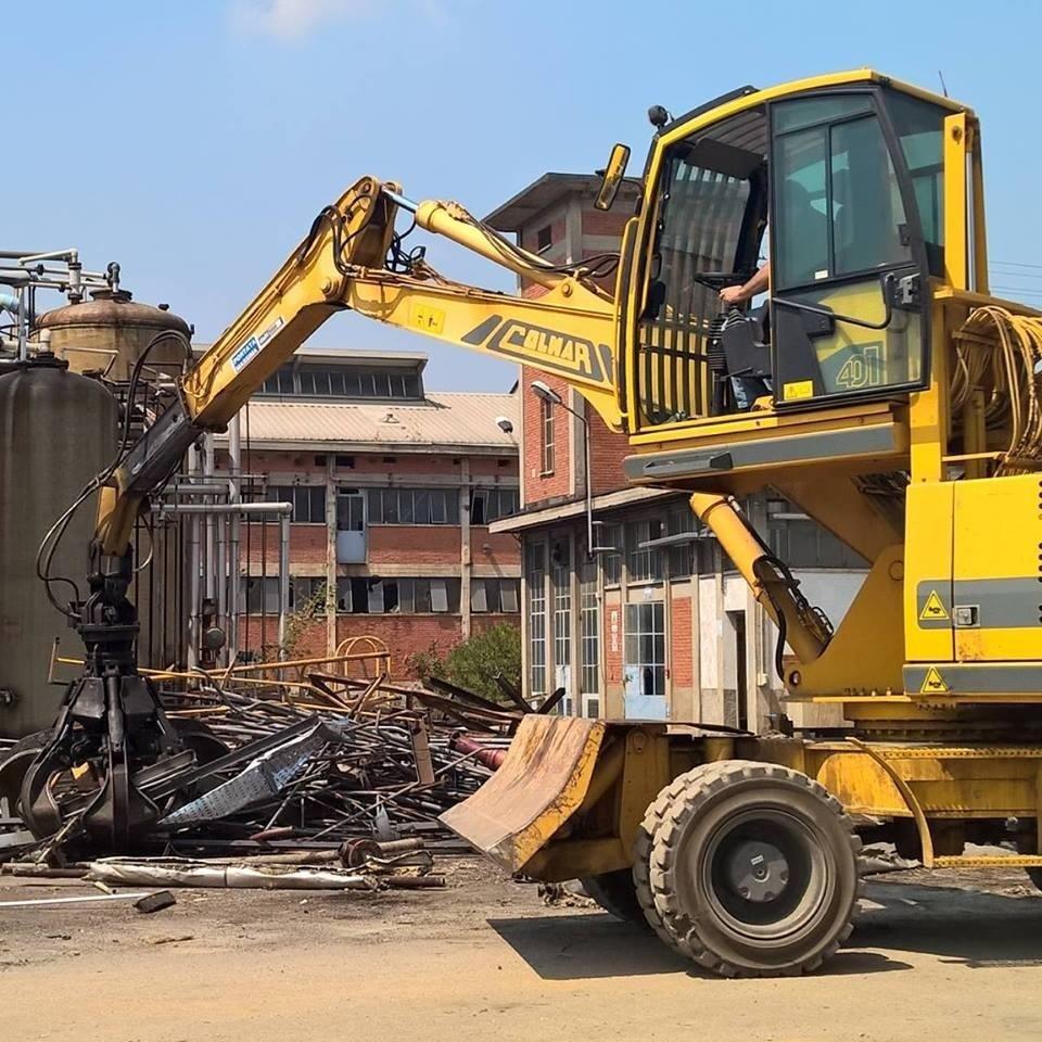 Spalatrice per demolizioni industriali