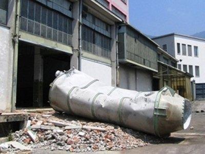Smaltimento serbatoi cisterne