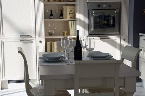 tavolo cucina in esposizione
