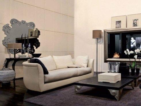 divano color crema