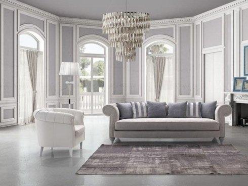 divano per salotto classico