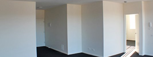 room being painted by commercial painters in Canberra