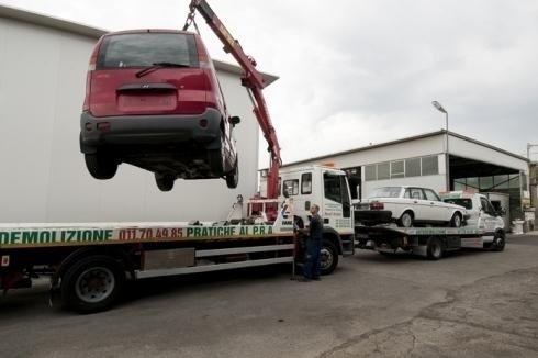 ritiro auto