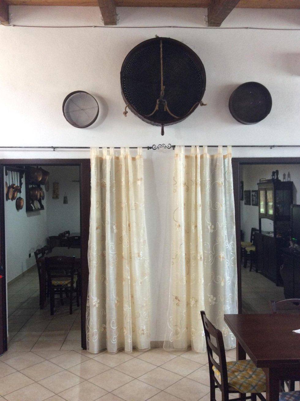 Sala pranzo - ristorante agriturismo Matera