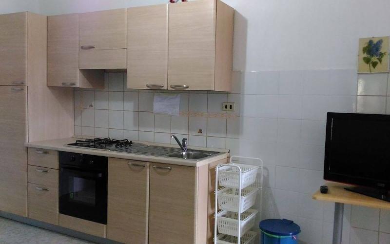 cucina e televisore