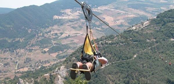 Castelmezzano - Volo dell'angelo