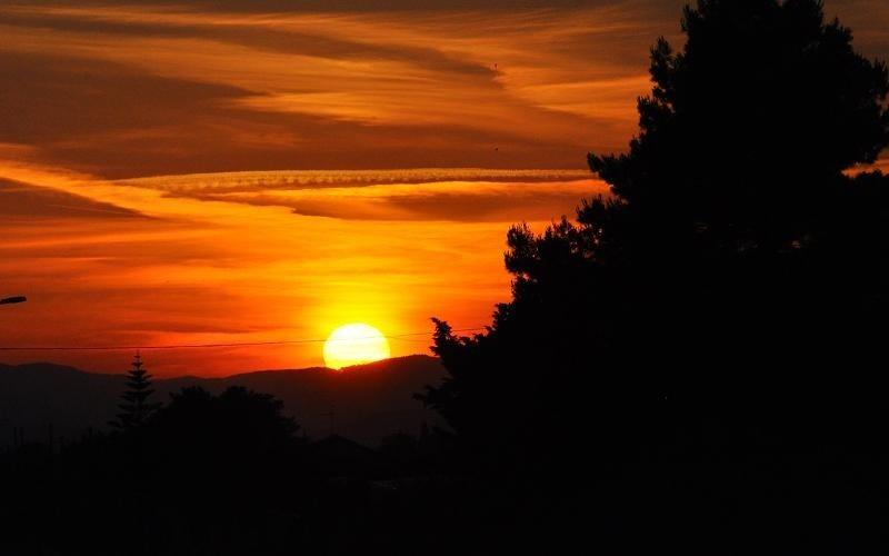 tramonto a Rotondella