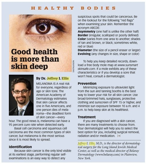 Dr  Ellis in Costco Magazine, May 2010