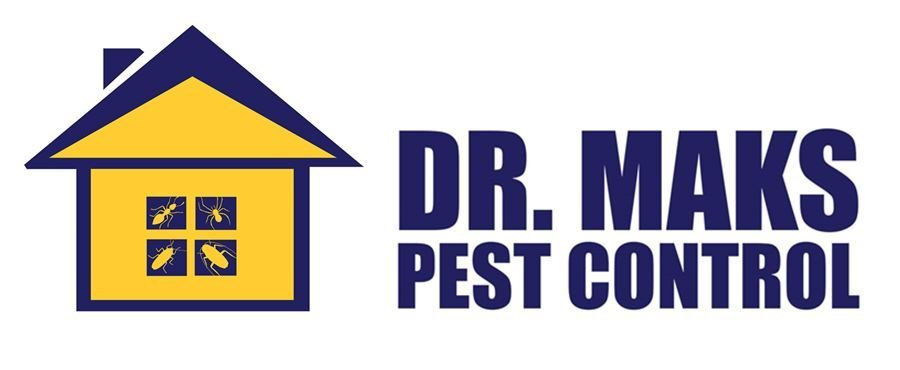 dr maks  pest control business logo