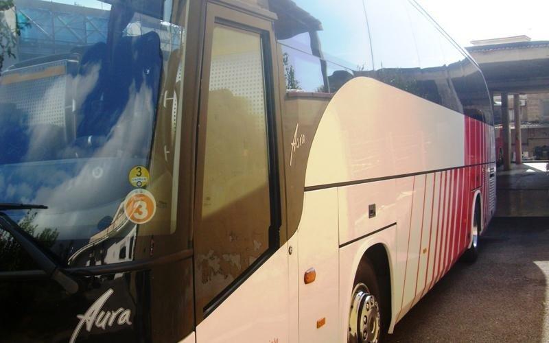 autobus per pellegrinaggio