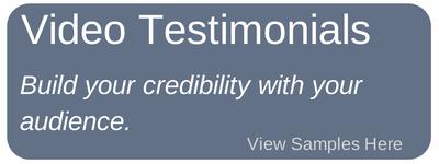 Video Testimonial creation and distribution