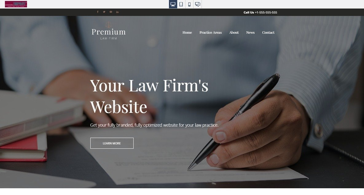 Website Creation, Design, SEO Optimization for Law Firms and Lawyers