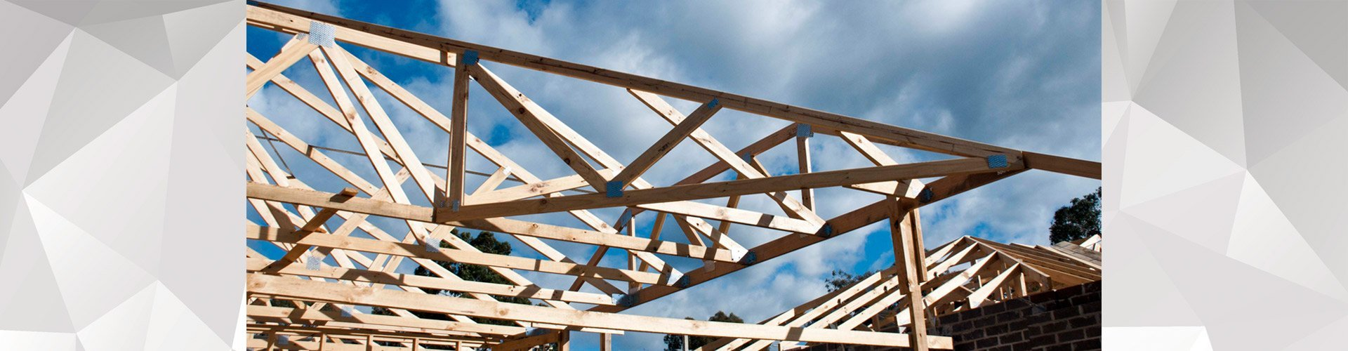 Roof trusses manufactured to fit melbourne 39 s needs for Manufactured roof trusses