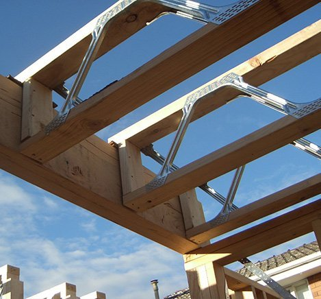 Prefabricated frames melbourne for Prefab roof