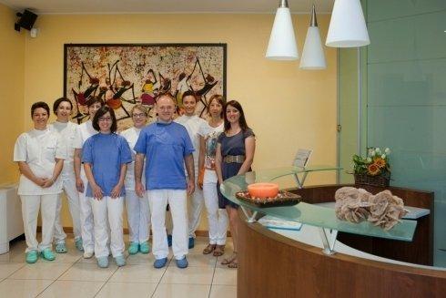 Lo staff dello STUDIO DENTISTICO GOBBATO