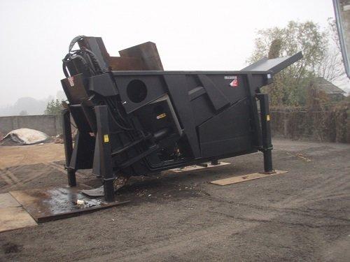 macchina per lo smaltimento industriale di rottami