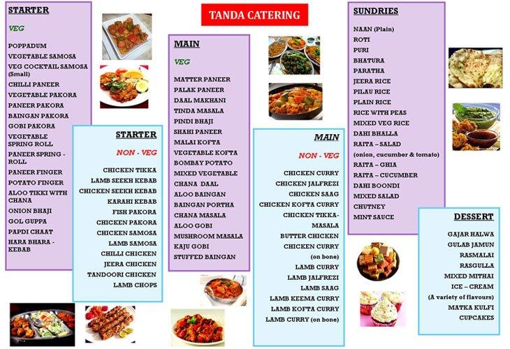 Tanda Catering Brochure