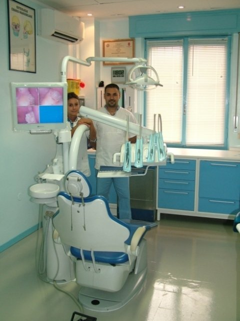 Vista interna dell'ambulatorio