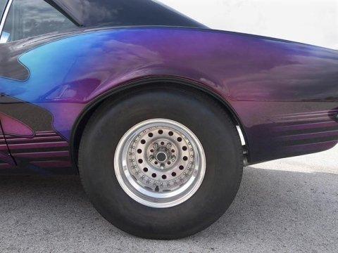 macchina viola