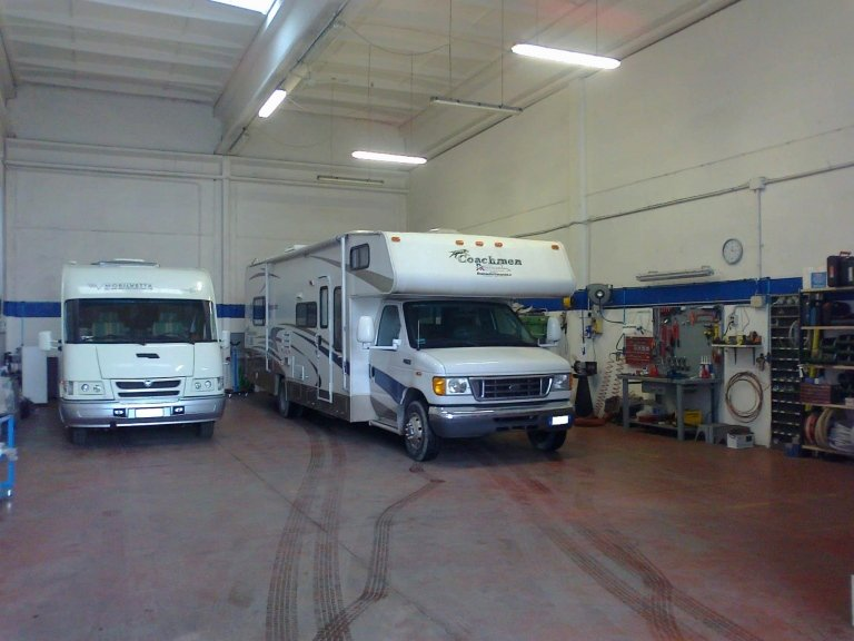 officina meccanica centro camper