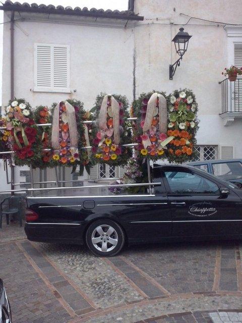 fioriera funebre