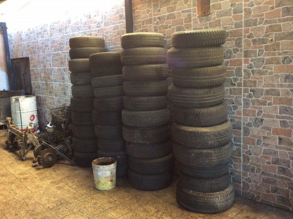 pneumatici auto usati