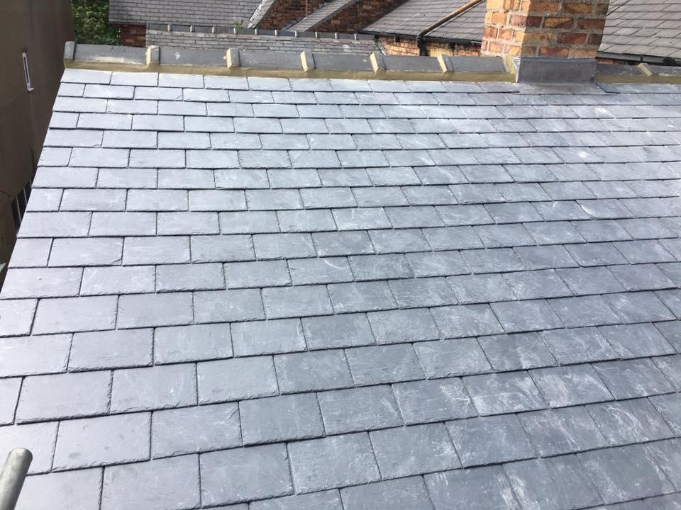 high-quality slate roof