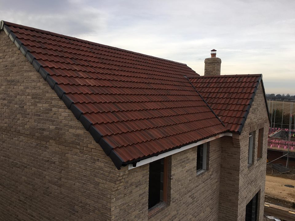 attractive tile roofing