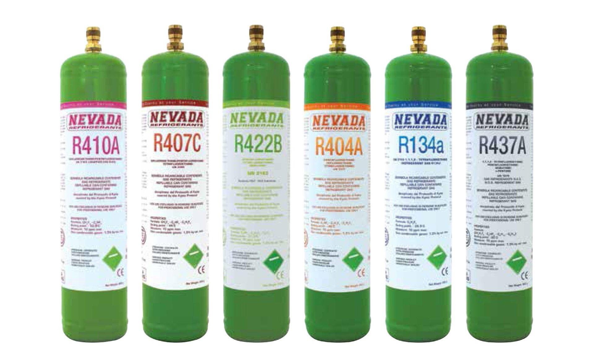 ricarica gas refrigerante