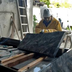 realizzazioni in marmo lucido e opaco