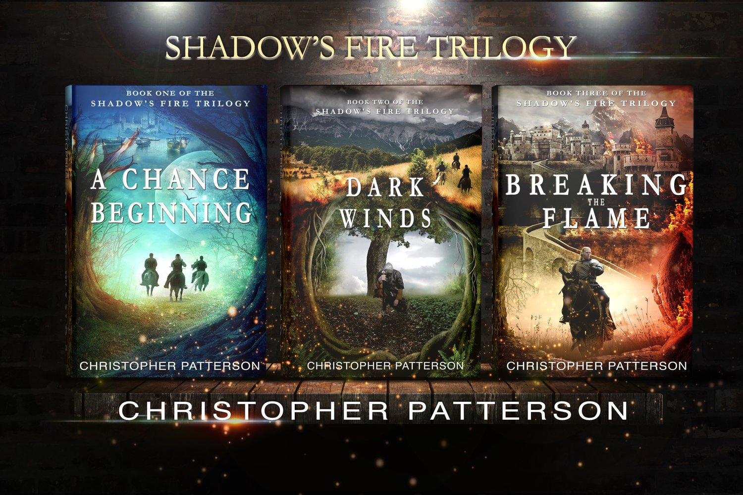 Christopher Patterson - Author Shadow's Fire Trilogy