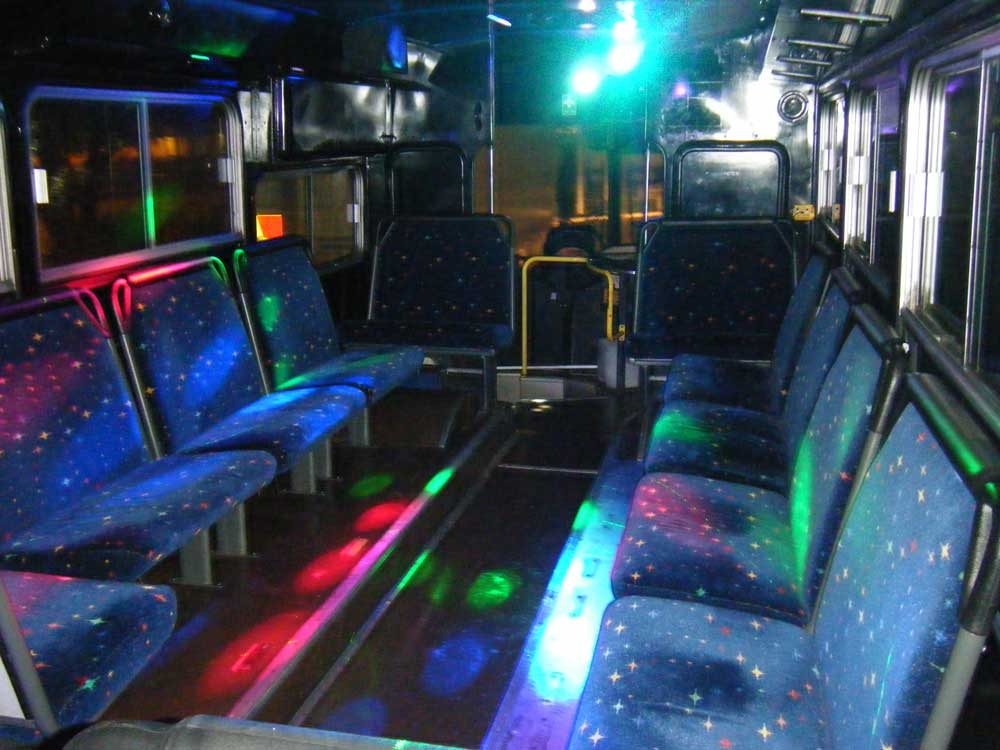 party bus chairs