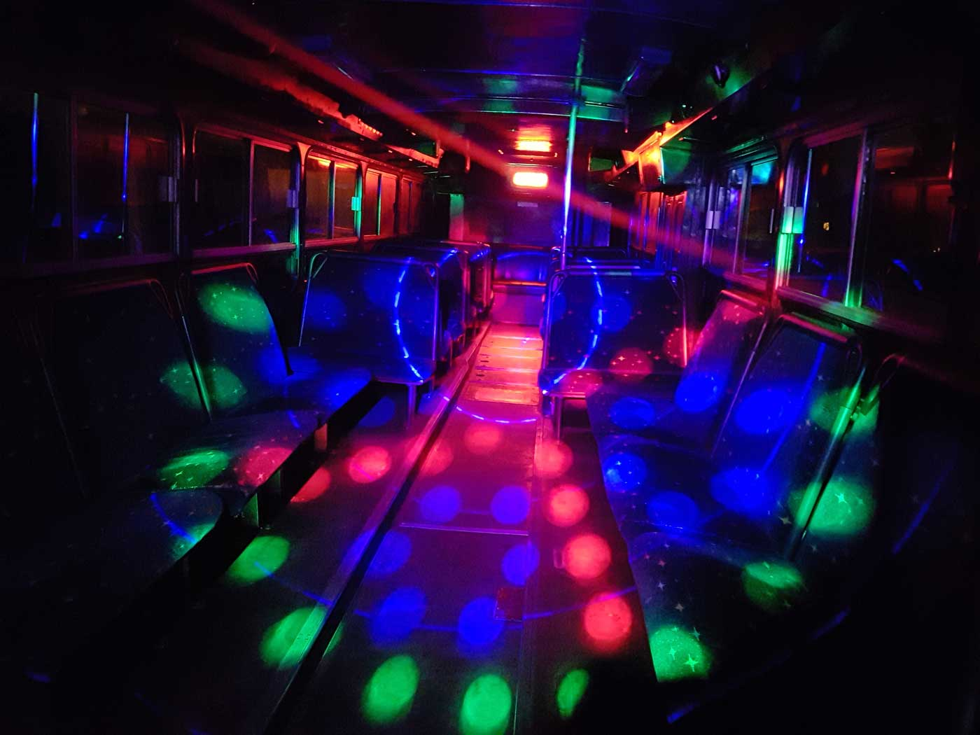 special occasion party bus