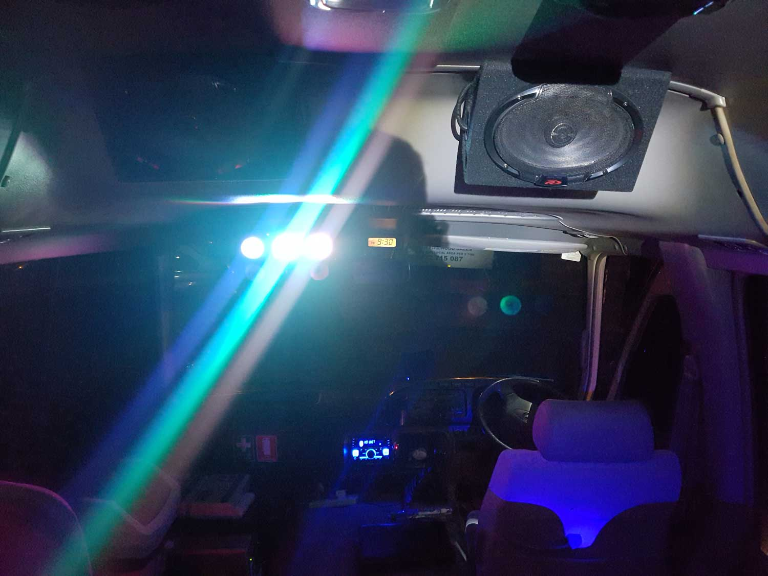 small party bus speaker