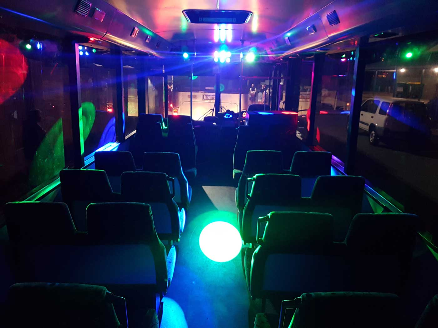 white party bus reservations