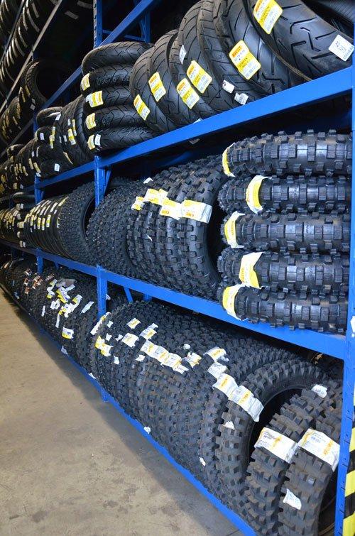 dei pneumatici