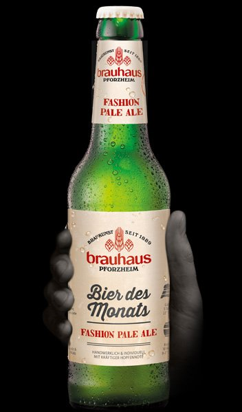 Brauhaus ,bier des monats,fashion pale ale