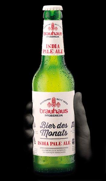 Brauhaus, bier des monats, India Pale Ale