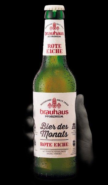 Brauhaus, bier des monats , rote eiche