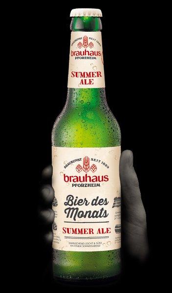 Brauhaus, bier des monats, summer ale